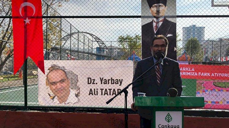 Yarbay Ali Tatar bu parkta yeniden can bulacak