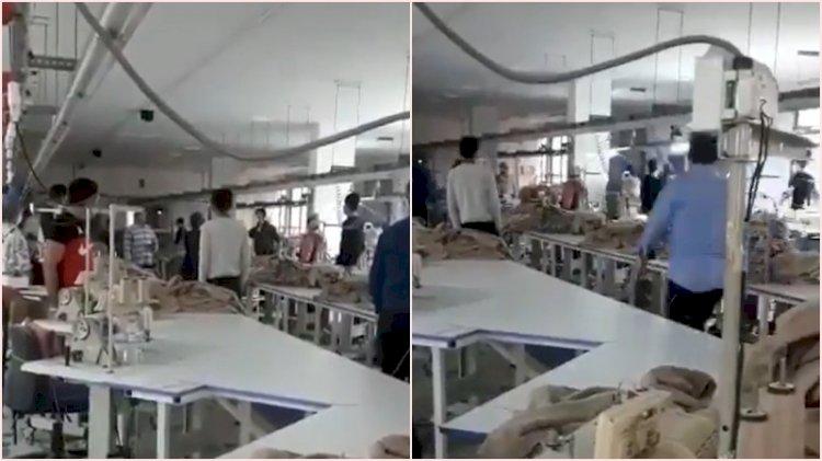 10 Kasım saygı duruşunda 'Biji Apo' diye bağıran çalışanı tekme tokat dövdü