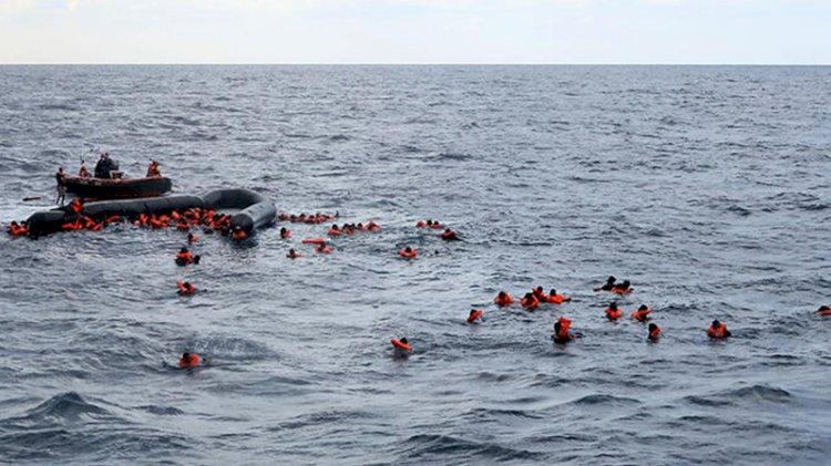 Libya açıklarında facia! 74 mülteci boğularak öldü