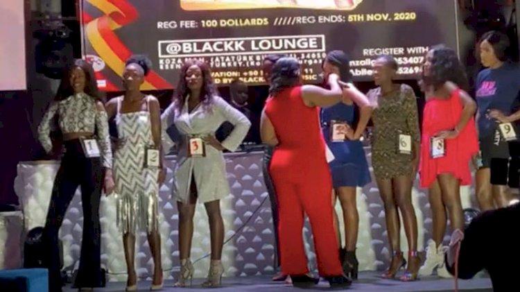 Esenyurt'ta korsan güzellik yarışması: Miss Uganda