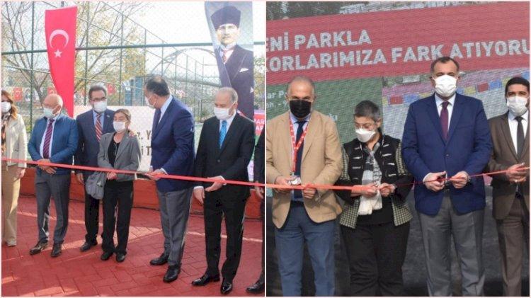 Ankara'da iki park, iki fotoğraf