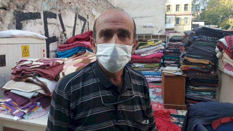 AFAD battaniyelerini satan hurdacı: Halkın hizmetine sunuyorum