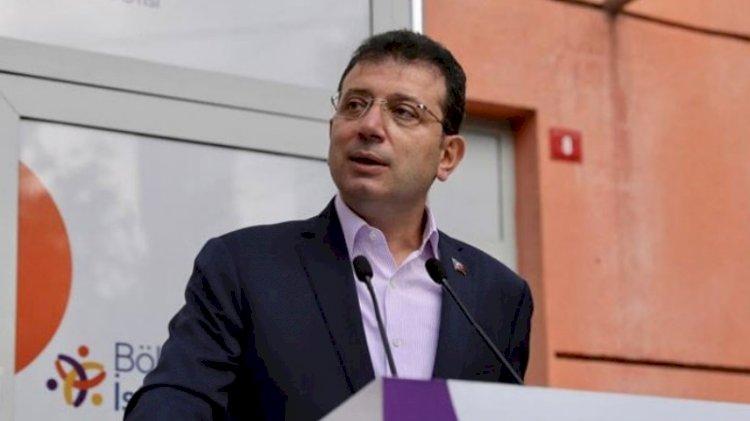İmamoğlu: Bilim Danışma Kurulu İstanbul'u 2-3 hafta kapanmayı öneriyor