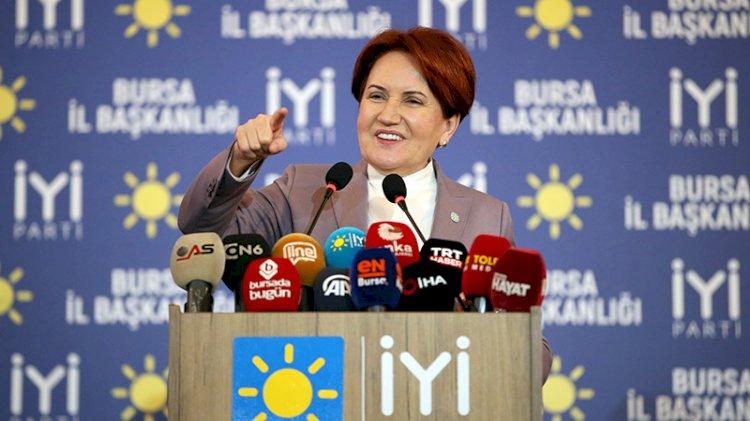 Meral Akşener, partisinin oy oranını açıkladı