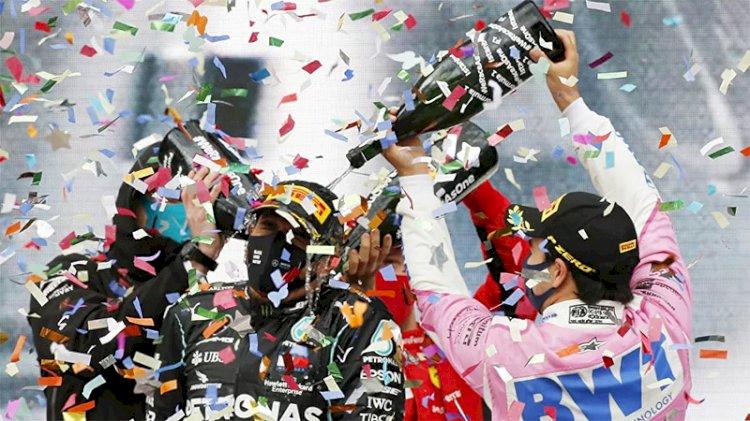 Mercedes takım patronu Toto Wolff: Formula 1 kupa töreninde şampanya yerine gazoz verildi