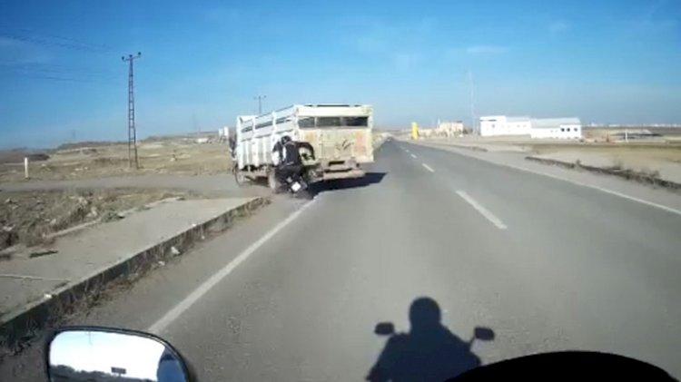 Polisin feci kazası kameralara böyle yansıdı
