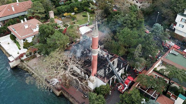 Vaniköy Camii yangınında yeni gelişme