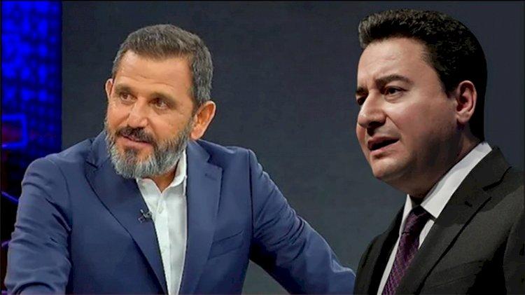 Fatih Portakal'dan Ali Babacan'a 'Korkma Türkiye' göndermesi