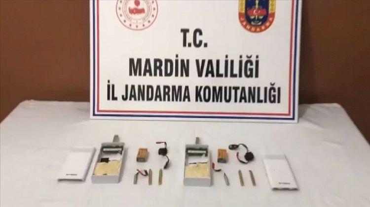 Mardin'de 1 kilo 970 gram patlayıcı madde taşıyan terörist yakalandı