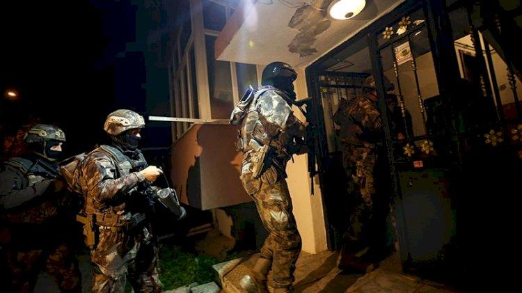 İstanbul'da uyuşturucu tacirlerine eş zamanlı baskın
