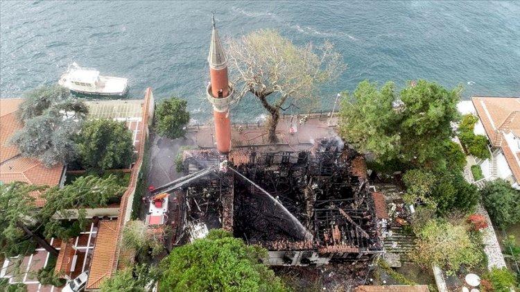 Vaniköy Cami yangınında bilirkişi raporu çıktı