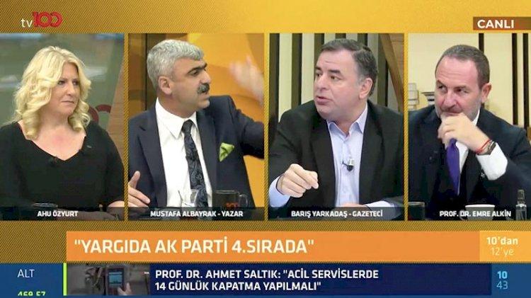 Canlı yayında büyük tartışma… 'Erdoğan'a itaat edeceksiniz'