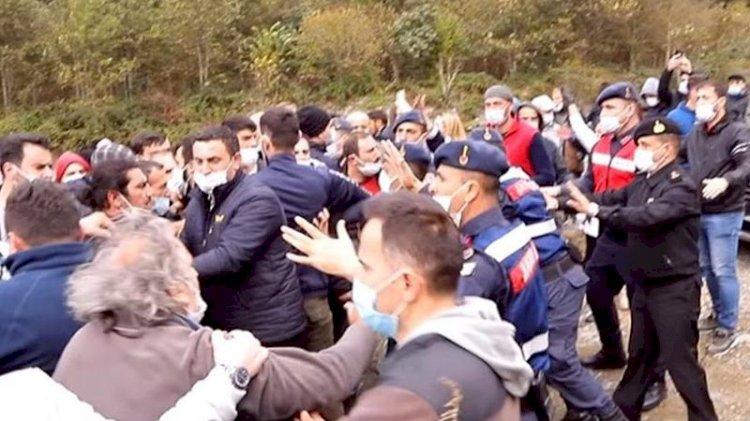 AKP'li balık çiftliği sahibi köylülere saldırdı