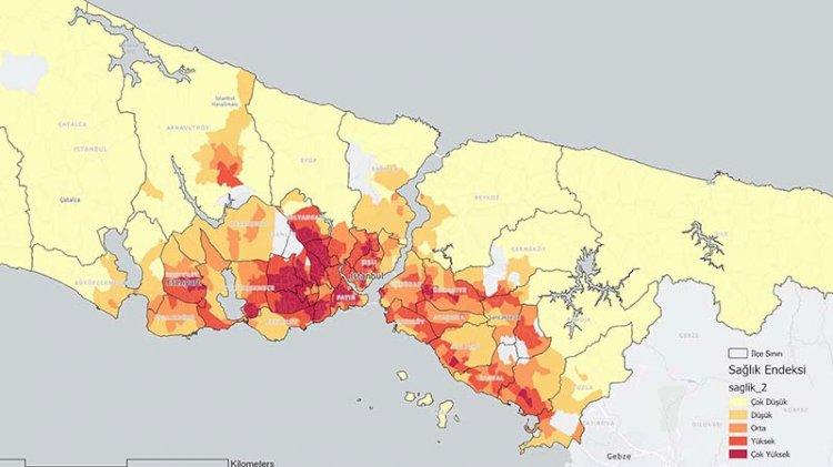 İstanbul'un kırılganlık haritası çıkarıldı... İşte korona riski yüksek olan mahalleler