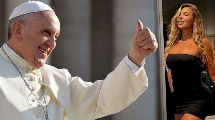 Vatikan'dan, 'like soruşturması': Papa Francis'in Instagram hesabından bir mankenin fotoğrafı beğenildi