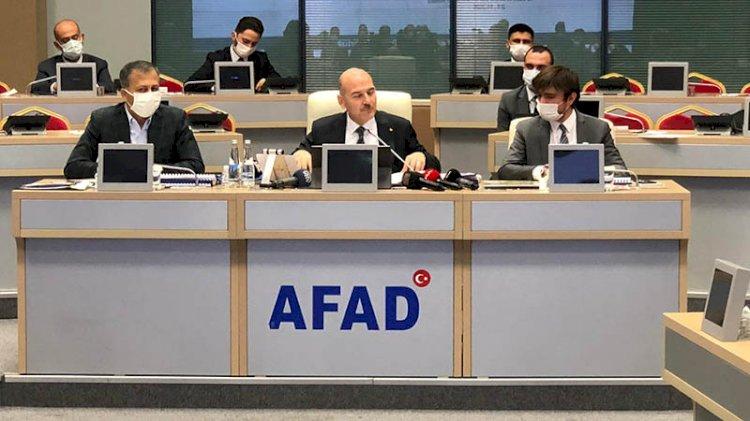Süleyman Soylu'dan 'afet' açıklaması