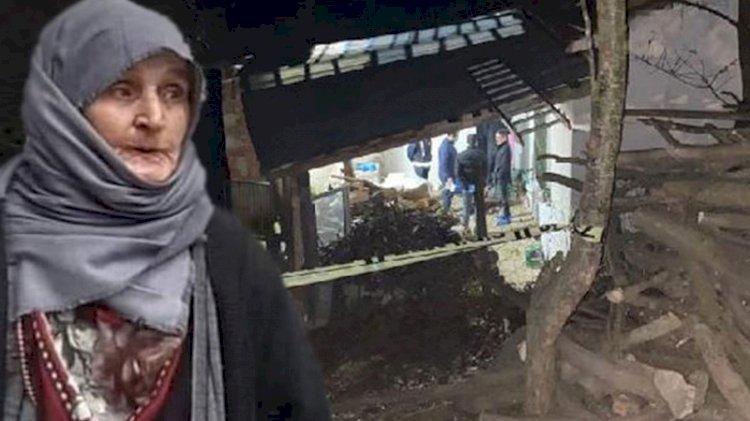 Domuz bağıyla öldürülen yaşlı kadının katilleri bulundu