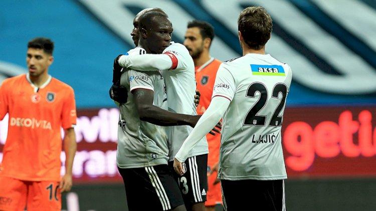 Beşiktaş, 10 kişi kalan Başakşehir'e acımadı