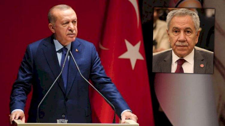 Erdoğan'dan Bülent Arınç'a yanıt
