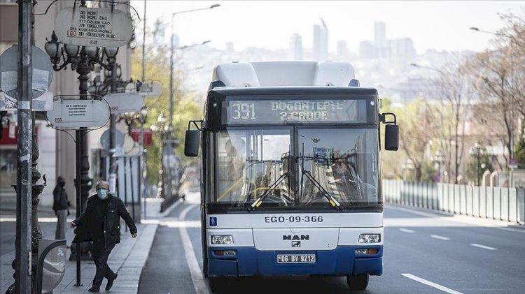 Ankara'da otobüs ve metro saatlerine düzenleme