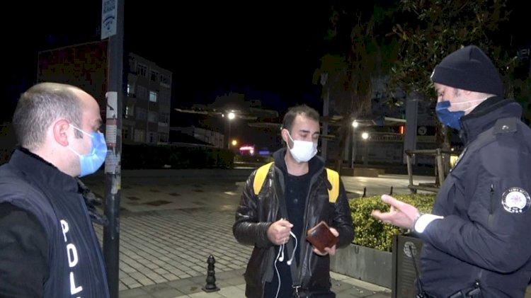 Sokağa çıkma yasağı ihlalini polis affetmedi
