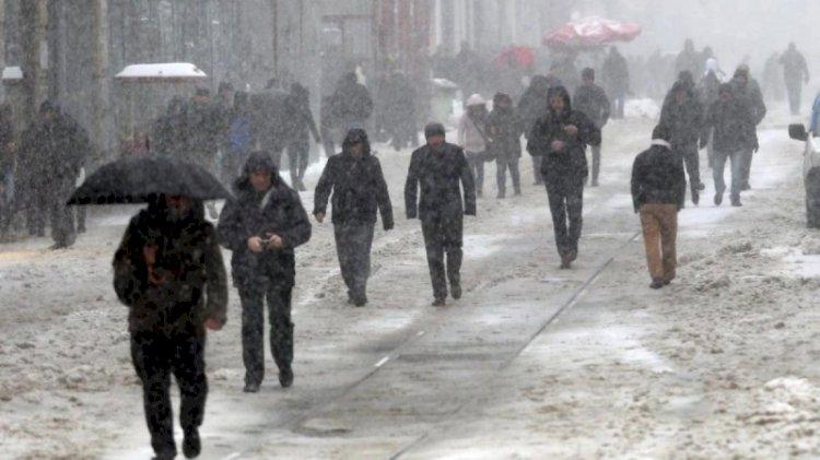Meteoroloji'den yağmur, kar ve fırtına uyarısı