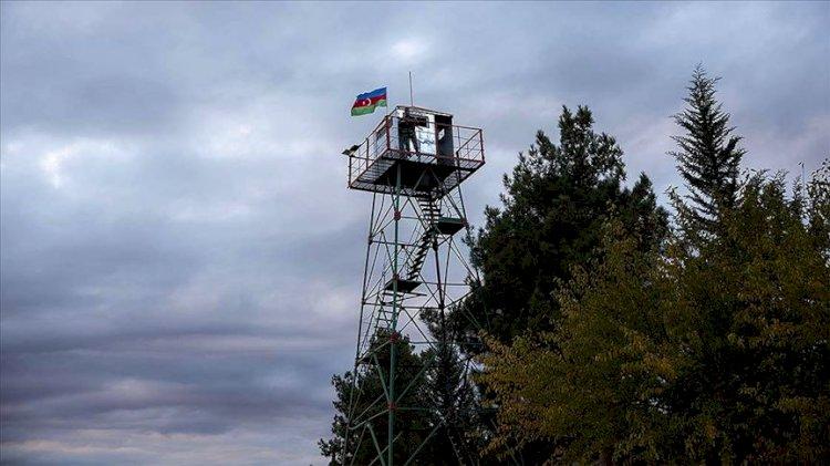 Azerbaycan ordusu Kelbecer'de