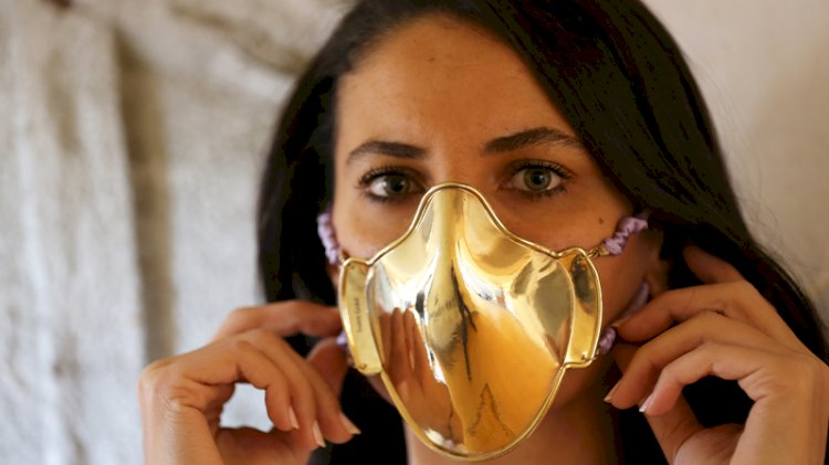 20 bin liraya altın maske