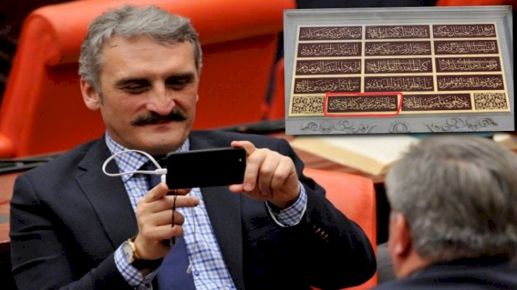 AKP'li vekil 270 yıllık tarihi çeşmenin kitabesine babasının adını yazdırdı