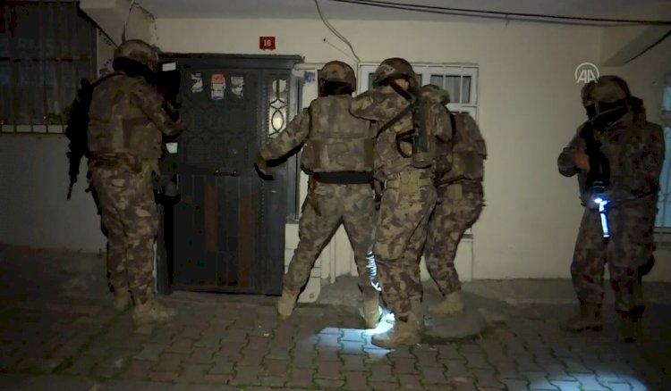 İstanbul'da PKK/KCK'ya gece yarısı operasyonu
