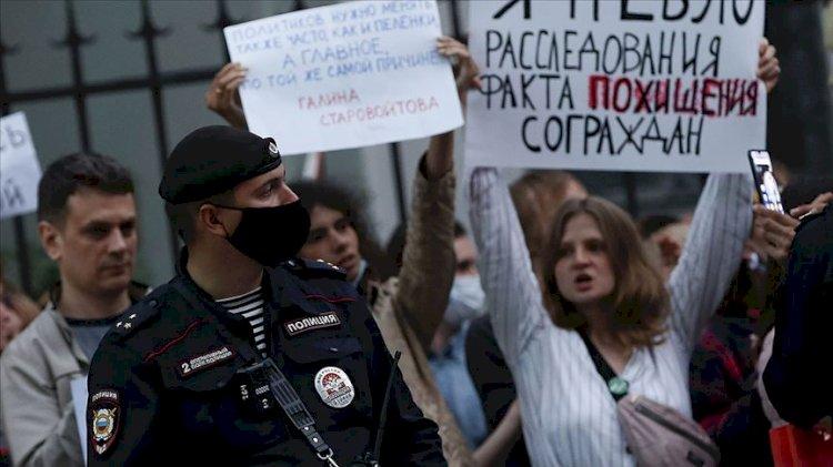 Rusya'dan Batı'ya 'Belarus' tepkisi: Renkli devrimlerin kirli yöntemleri…