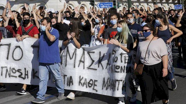 Yunanistan'da grev günü