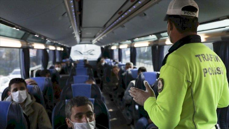 Karabük'te koronavirüs skandalı: Karantinadan çıktı, halk otobüsünde yakalandı