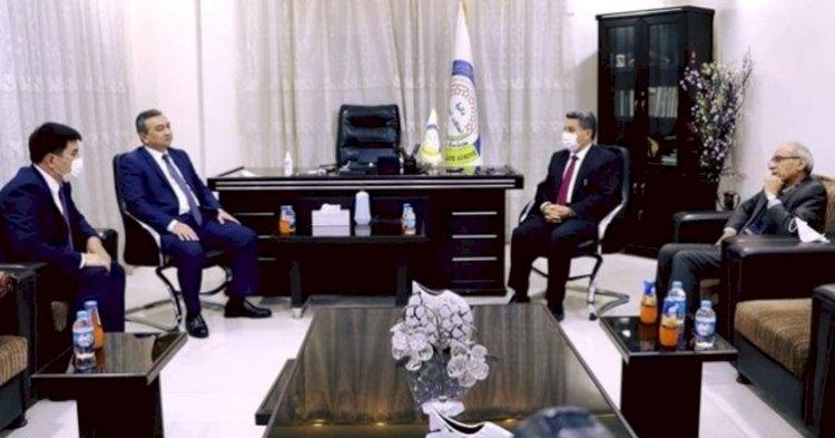 Özbekistan'dan terör örgütü PKK/PYD'ye ziyaret