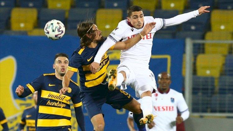 Trabzonspor ilk deplasman galibiyetini başkentte aldı