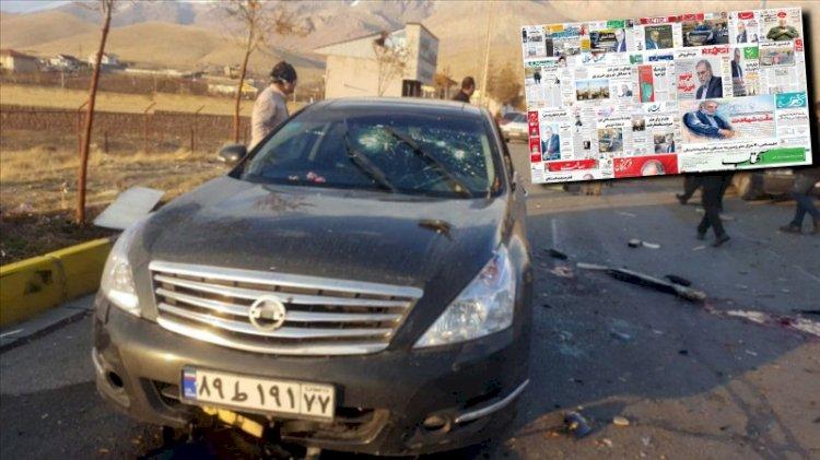 İran'da intikam manşetleri!
