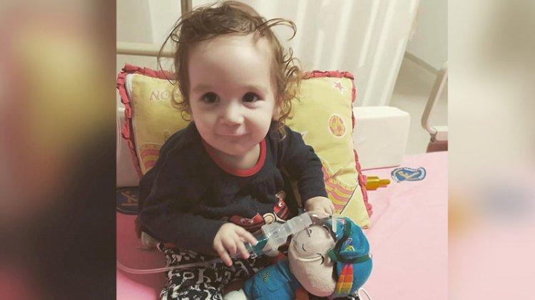 SMA hastası 'Asya Bebek' yaşamak için yardım bekliyor