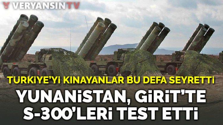 Yunanistan Girit'te S-300 test etti