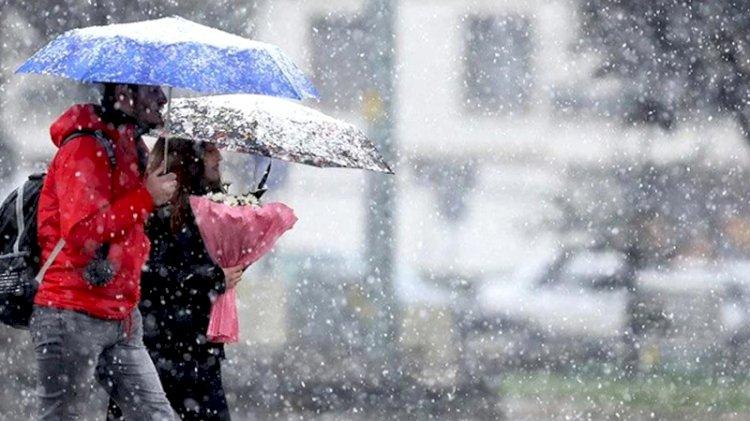 Meteoroloji uyardı: Sağanak ve kar geliyor