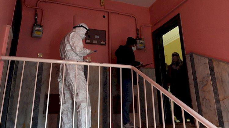 Sağlıkçı, jandarma ve polisten zorlu mesai: Koronavirüsün yayılmasını engellemek için gece gündüz çalışıyorlar