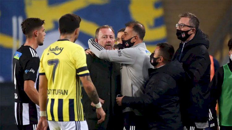 Fenerbahçe - Beşiktaş derbisinde Sergen Yalçın çıldırdı