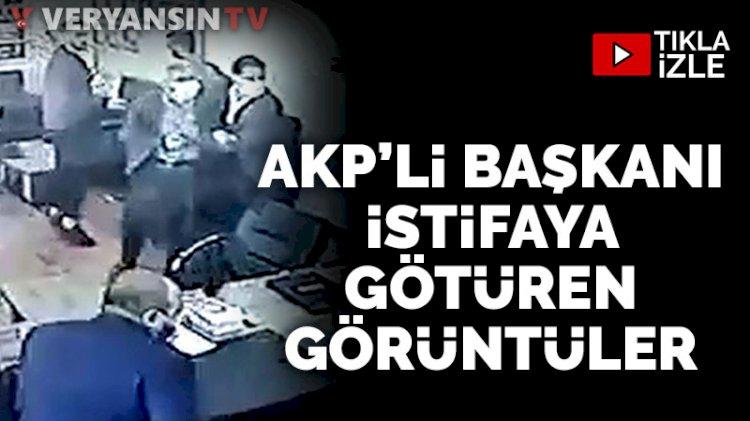 AKP'li Belediye Başkanı Şehmus Aydın'ı istifaya götüren görüntüler