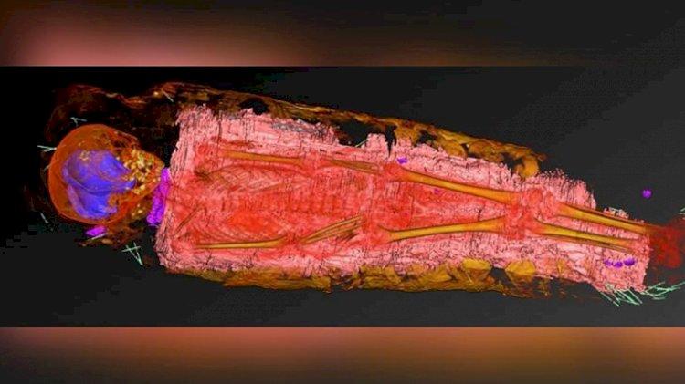 Mumyaları X ışınıyla tarayan bilim insanlarını şaşırtan keşif