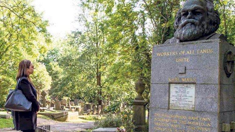 Marx'ın yattığı mezarlığa dükkan! Hediyelik eşya dükkanı, kafe ve sergi alanları kurulacak