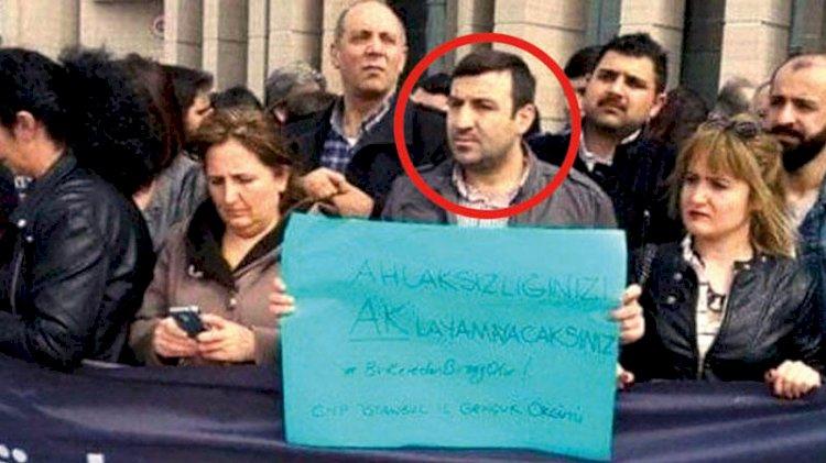Tecavüzle suçlanan CHP'li kadın eyleminde