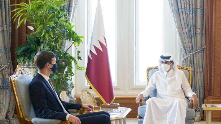 Trump'ın damadı Kushner Katar Emiri ile görüştü