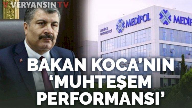 Bakan Fahrettin Koca'nın 'muhteşem' performansı
