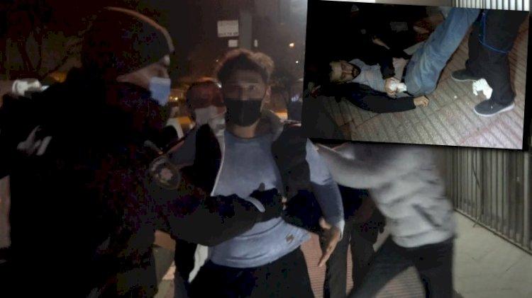 Kısıtlamayı ihlal eden boksör, gazetecinin burnunu kırdı