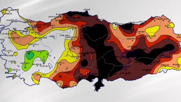 Türkiye kuraklık tehlikesiyle karşı karşıya