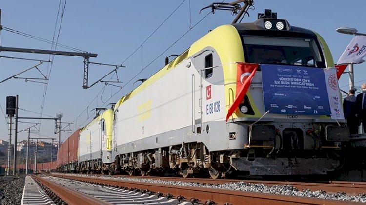 Çin'e giden ilk ihracat treni uğurlandı